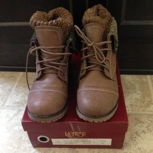 Refresh ankle combat boots